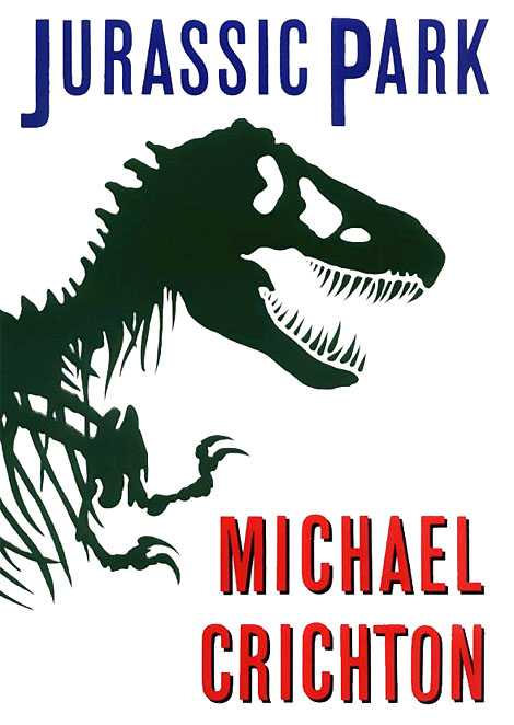 Jurassic Park Book Cover