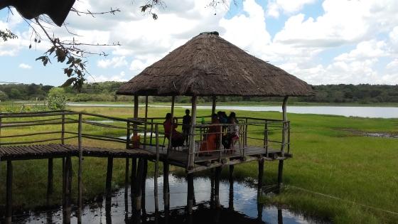A restaurant alone Trinco - Anuradhapura road